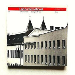 Lotus international n. 41 1984 Rivista Architettura Abitare in città Kleihues