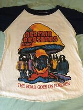 1979 Allman Brothers Band vintage rock concert tour t-shirt 70s Band Rare Bright
