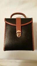New Bombay Black and Brown  Travel Jewelry Box - 1859878