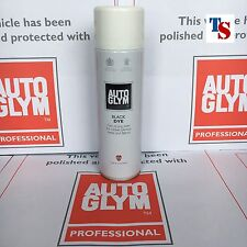 Autoglym Black DYE (fast stain - Rubber Plastic Metal Fabric 450ml GENUINE)