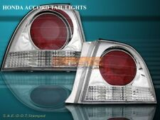 Fit For 1994-1995 HONDA ACCORD ALTEZZA TAIL LIGHTS 2/4D CHROME