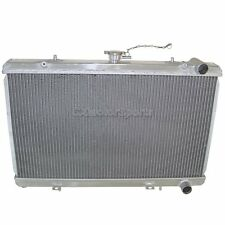 "Aluminum 2"" Core Radiator For 240SX S13 KA24 CA18DET RB20 KA24DE KA"