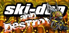 SKI-DOO custom banner XP MechanicalBee2 SWEET! DETAILED