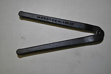 """Proto JC482 BLACK OXIDE ADJUSTABLE FACE SPANNER PIN WRENCH 2"""" Made in USA"""