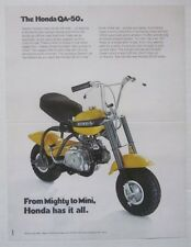 HONDA QA50 Sales Brochure - Beautiful, high quality reproduction.