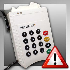 REINER SCT cyberJack® pinpad ~ HBCI-Chipkartenleser ~ Sicherheitsklasse 2