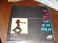 """JEAN WELLS """"KEEP ON DOIN' IT """"ITALY'72"""