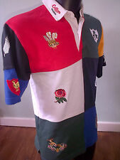 10 Nations Rugby Union Shirt - England Australia New Zealand Ireland MENS SMALL