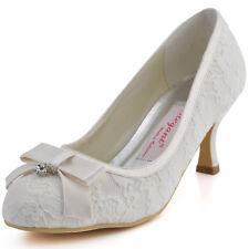 Brautschuhe Ivory Spitze Gunstig Kaufen Ebay