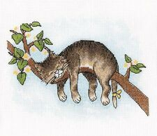 """Counted Cross Stitch Kit Make Your Own Hands - """"Do not wake me up!"""""""