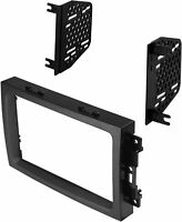 AI 2 DIN Radio Install In-Dash Kit For 2005-Up Chrysler / Dodge / Jeep Vehicles