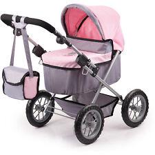 Bayer Design Mein erster Puppenwagen Trendy (Grau-Rosa)