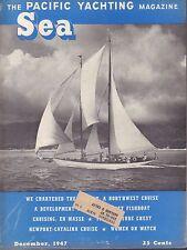 Sea Boat Magazine December 1947 Cruising En Masse w/ML 041817nonDBE