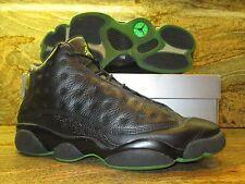 2005 Nike Air Jordan Retro 13 XIII SZ 9 Black Altitude Green OG Taxi 310004-031
