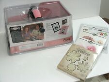 Big Shot Sizzix Shape Cutting and Embossing System Plus Extras