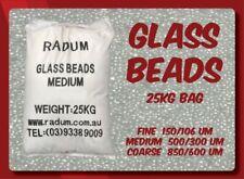 Glass Bead Sandblasting Media (Medium/Fine grades available) - Radum