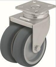 BLICKLE DOPPEL LENKROLLE DOPPELLENKROLLEN LIGHT DUTY TWIN WHEEL CASTORS ROULETTE