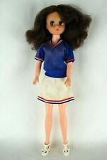 Otto Simon FLEUR brunette hair ballerina Dutch Sindy doll #1229 Tennis outfit