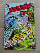 Dragonfly 3 . Vs Stardust - Americomics 1986 - FN / VF