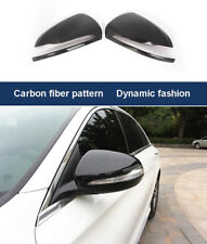 Carbon Fiber pattern Side Mirror Cover for Mercedes Benz new C E S GLC Class