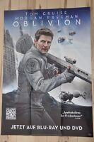 Filmposter Filmplakat DINA1 A1 - Oblivion - Tom Cruise Morgan Freeman - Neu