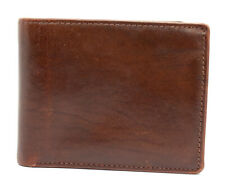 Tyler & Co Bifold Mens Leather Wallet Brown