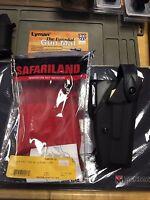 "New Safariland 6280-830-132 LH Mid Ride Level Holster, Glock 4.5"" SureFire P111"