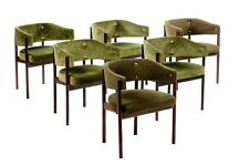 1950s by Italian Midcentury modernist Design Chairs Set of 6
