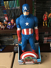 "Hasbro 20"" TITAN HERO CAPTAIN AMERICA Wal-Mart Exclusive New in package"