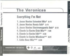The Veronicas: Everything I'm Not PROMO MUSIC AUDIO CD Jason Nevins Eddie Baez 7