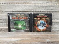 Command & Conquer PC Game Lot! Red Alert & Red Alert The Aftermath!
