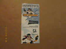 ECHL Pensacola Ice Pilots Vintage 2001-02 Logo Hockey Season Ticket Brochure
