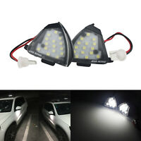2x Canbus Under Side Mirror Puddle Light For VW Golf GTI MK5 Eos Jetta Passat B6