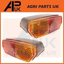 PAIR Fiat 450,480,500,540,550,600,650,750,850,900 Tractor Rear Brake Lights Lamp