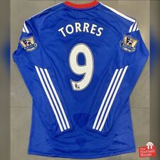 Authentic Adidas Chelsea 2010/11 L/S Home Jersey - Torres 9. Size S, Exc Cond.