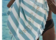 Victorias Secret Sea Stripe Teal Beach Towel 2020