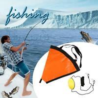 Sea Drogue Drift Sock+ 30ft Fishing Kayaking Drift Tow Rope JF#E
