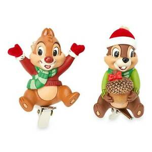Disney 2021 Chip 'n' Dale Clip-On Christmas Tree Decoration Ornament