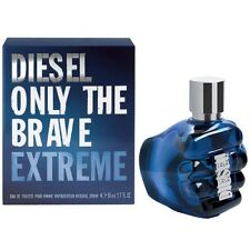 DIESEL ONLY THE BRAVE EXTREME 50ML EAU DE TOILETTE SPRAY BRAND NEW & SEALED