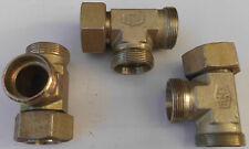! ! ! Hydraulikverschraubung, T-Stück Verschraubung, EMB 35 L Überwurfmutter ! !