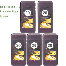 5Pack Restaurant Pager for Retekess T-111 or T-112 Wireless Paging System 433MHz