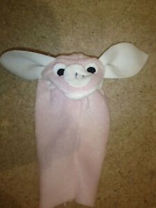Replica of Rare Vintage Pig Puppet as seen in Baby Einstein