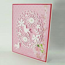 Oval wreath Cutting Dies Scrapbooking Embossing Card Making Paper Craft Die HU