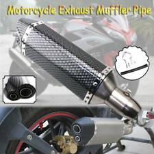 Universal Motorbike Exhaust Pipe Muffler Slip On For Honda RVT1000R RC51 2005-06