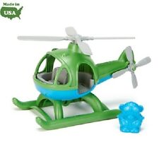 Green Toys Helicopter - Green - 100% Recycled Toy - No BPA - Diswasher Safe