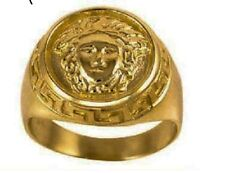 Designer 10K Men's Gold Ring - Real Solid Yellow Gold *NEW with Box*