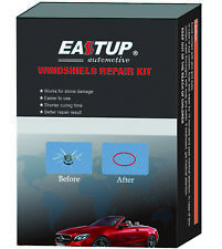Eastup Windshield Car Glass Repair Kit Chip Crack Repair System for 1-2 Chips