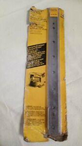 12.5-Inch Planer Knives For DeWalt Planer DW734 Set Of 3 (H6)