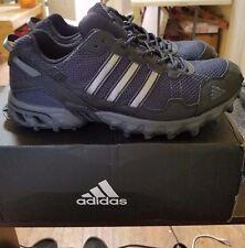NIB Men's Adidas Rockadia  Athletic Running Shoes Thrasher BY1791 Vigor Bk
