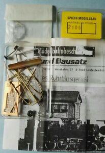 Spieth B106 / 2106 - fahrbares Rohrblasgerüst Heilbronn - 1:87 H0 -Metallbausatz